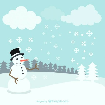 winter-landscape-with-snowman